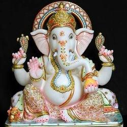 Decorated Ganesha Statue