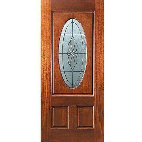 Half Glass Front Door