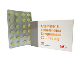 Artemether Lumefantrin Tablets 20  120 Mg