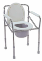 Non Movable Commode Chair
