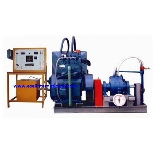 Single Cylinder Two Stroke Petrol Engine Test Rig