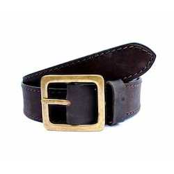 Customized Casual Brown Leather Belt