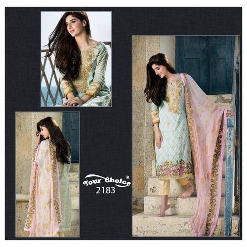 Party Wear Ethnic Unstitched Salwar Suit