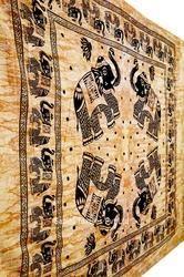 Indian Tapestry Animal Skin Pattern Bedspread