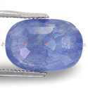 5.56 Carats Blue Sapphire