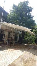 Karu Model Parking Tensile Structure