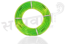 PVC Green Color Transparent Garden Pipe