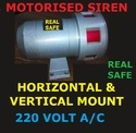 Motorized Siren