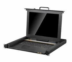 4ports/8ports/16ports 1u Rackmount 17 LED COMBO KVMSwitch