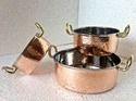 Copper Hammered Mini Casserole Portion Dishes