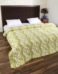 Jaipuri Hand Printed Double Bed Quilt