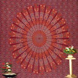 Colorfull Mandal Tapestry