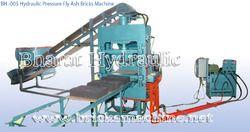 Hydraulic Pressure Fly Ash Bricks Machine