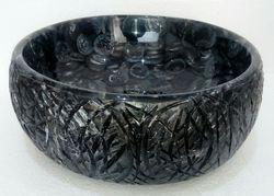 Trunk Black Grey Washbasin