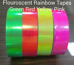 Fluorescent Rainbow Tapes
