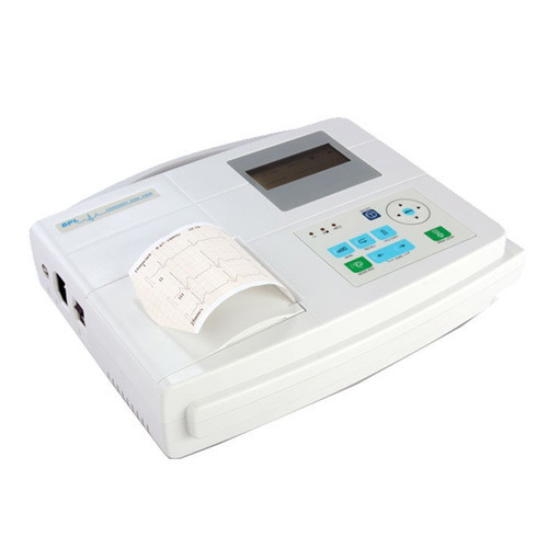 Cardiart 6208 View 3 Channel ECG Machine