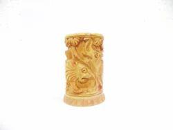 Wooden Shikhar Carving Pen Holder