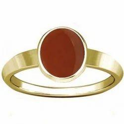 Carnelian Gold Ring