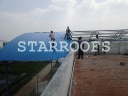 Terrace Roofing Sheds