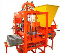 Global 1000SHD Hydraulic Operated Concrete Block Making Machine