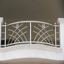 Balcony grills in pune maharashtra india indiamart for Stainless steel balcony grill design
