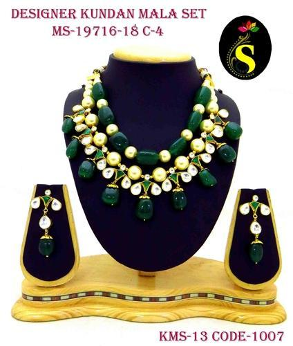 Jewellery Kundan Mala Set