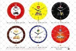 Round Shape Clock