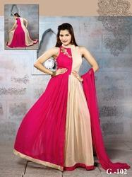 Trendy & Bold Hand Embroidery Gown