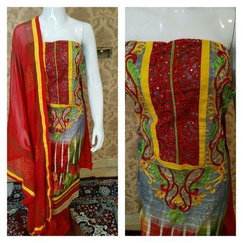 Hand Embroidered Suit