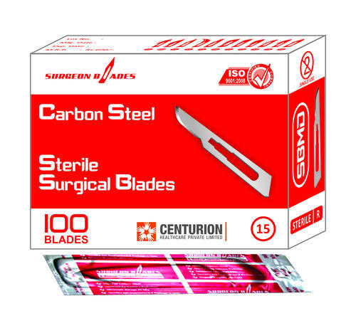 Sterile Surgical Blades Size 15