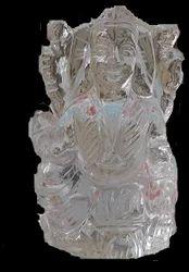 Laxmi Idol of Crystal