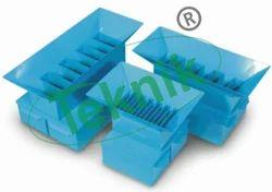 Riffle Boxes Sample Splitter