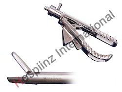 Needle Holder TC Tip 3.5mm Handle E Model Straight