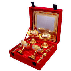 Design Gold Plated Bowl Set