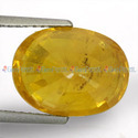 6.66 Carats Yellow Sapphire