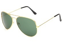 Gold Frame Sunglass