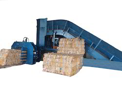 Fully Auto Tie Horizontal Baler For Paper/Plastic/pet Scrap