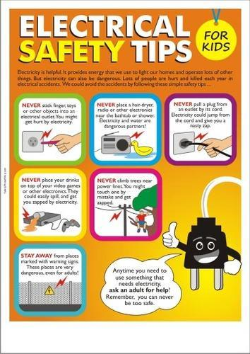 Electrical Safety Posters Electrical Safety Poster Manufacturer From Chandigarh