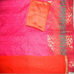 Aaditri Banarsi Silk Suits With Mirror Work