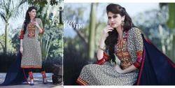Straight Cut Salwar Kameez