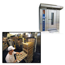 Four Trolley Rotary Rack Oven  for Food Industry