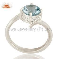925 Silver Birthstone Wedding Rings