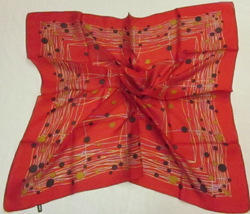 tabby silk square scarf