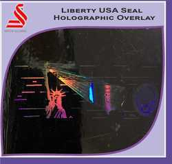 Holographic Liberty USA Seal Hologram Label Stickers