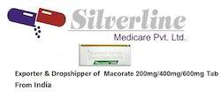 Macorate 200mg/400mg/600mg Tab
