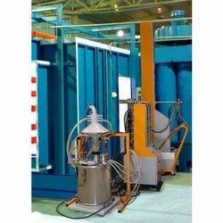 Automatic Conveyorised Powder Coating Plant