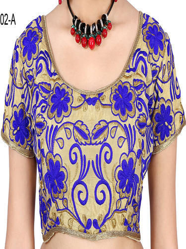 Vee Fab Stitched Blouse