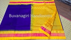 Korvai Silk Cotton Silk Border Sarees