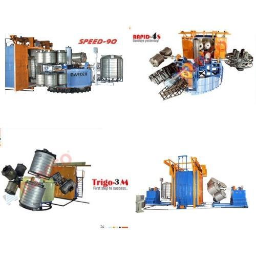 Bi Axial Moving Type Rotomoulding Machine