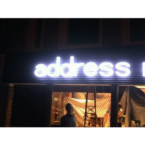 Acrylic Letters with Module Light